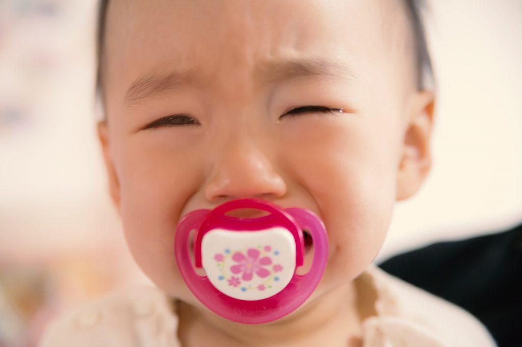 夜泣きがひどい赤ちゃん