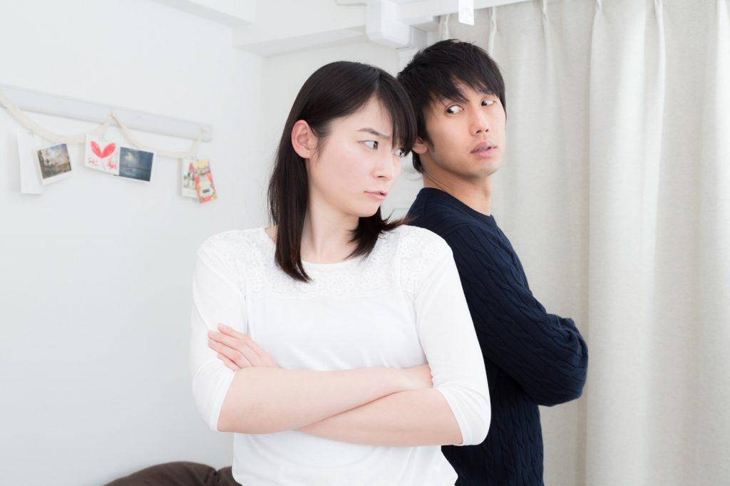 結婚準備の喧嘩